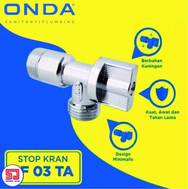 Onda JF 03 TA Stop Kran 1/2 Inch