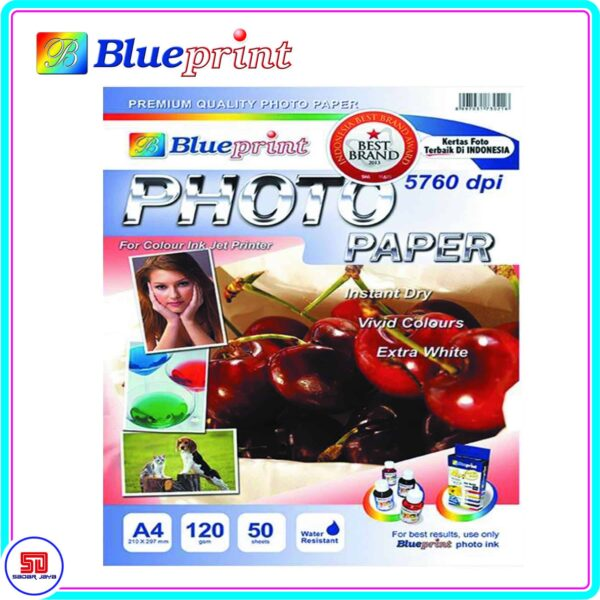 Blueprint Photo Paper