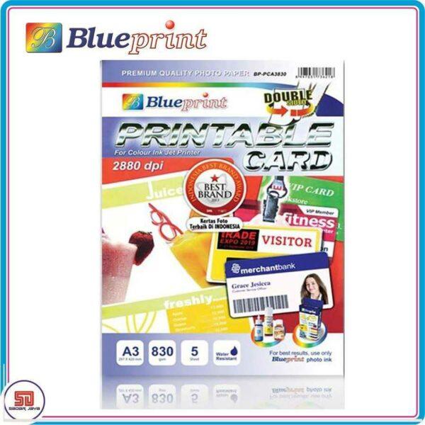Blueprint Paper ID Card