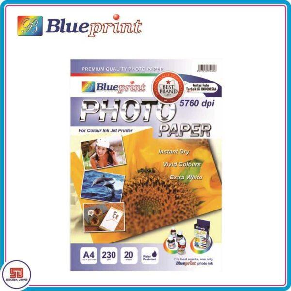 Blueprint Photo Paper Glossy