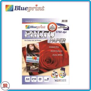 Blueprint Kertas Foto Glossy A4