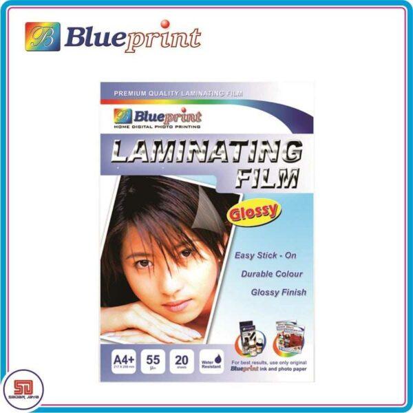 Blueprint Glossy Laminating Film