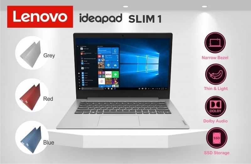 LENOVO IdeaPad Slim 1, Laptop Murah dan Tertipis di Indonesia