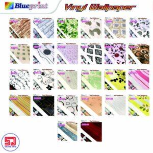 Blueprint Wallpaper Dinding
