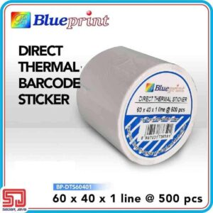 Direct Thermal Sticker Label 50 x 20 mm