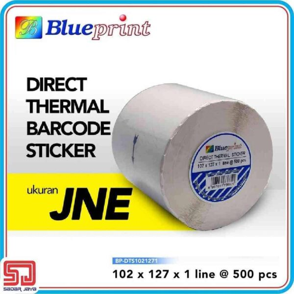Direct Thermal Sticker Label 102 x 127 mm
