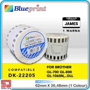 Continuous Sticker Brother 22205