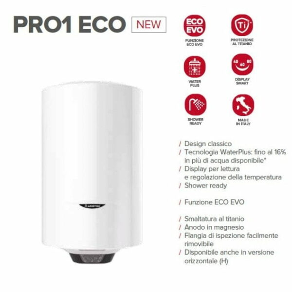 Ariston Pro1 Eco 50 Liter