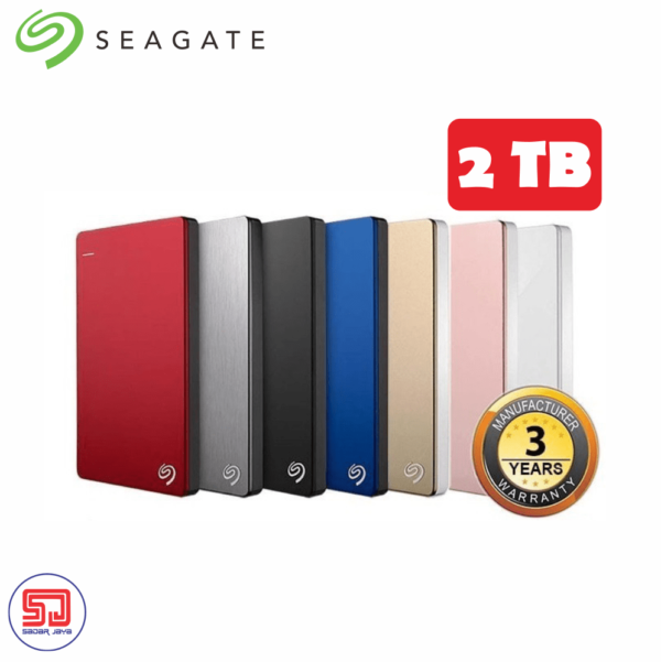 Seagate Backup Plus BUP Slim 2TB