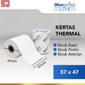 Blueprint Lite Paper Thermal EDC 57×47mm :