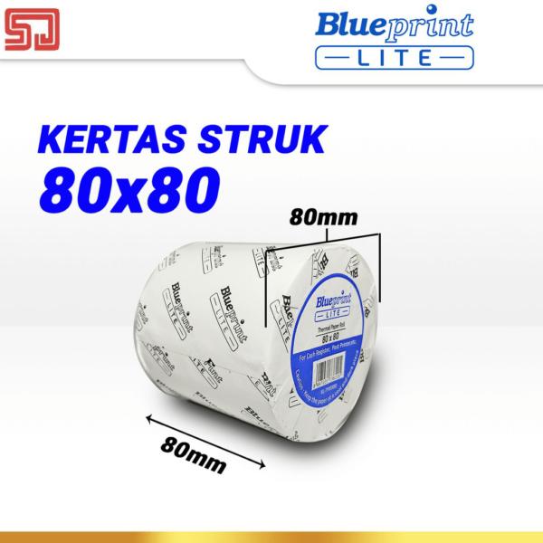 Blueprint Lite Paper Thermal 80×80mm