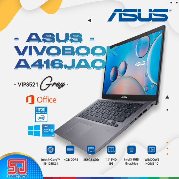 Asus VivoBook A416JAO-VIPS521