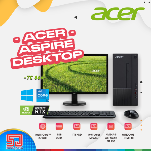 Acer Aspire Desktop TC-866
