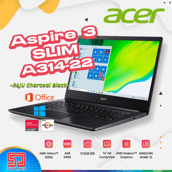Acer Aspire 3 Slim A314-22-R6MN